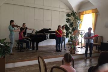 Výchovný koncert v Kroměříži